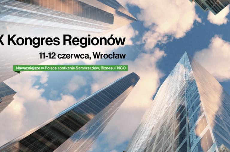 Aesco Group partnerem X Kongresu Regionów we Wrocławiu 11-12.06.2019