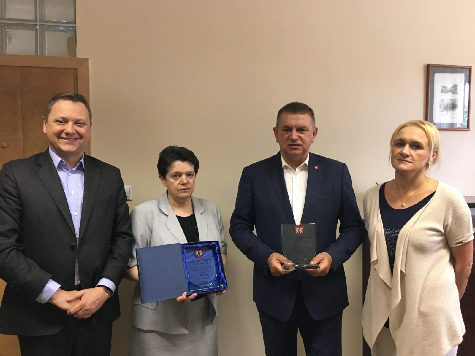 Trzecia emisja obligacji dla Miasta Płońska na 10 mln zł