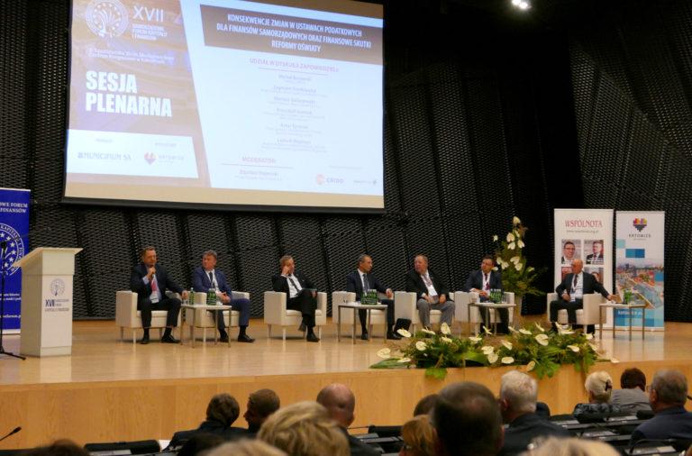 Eksperci Aesco na XVII Samorządowym Forum Kapitału i Finansów w Katowicach